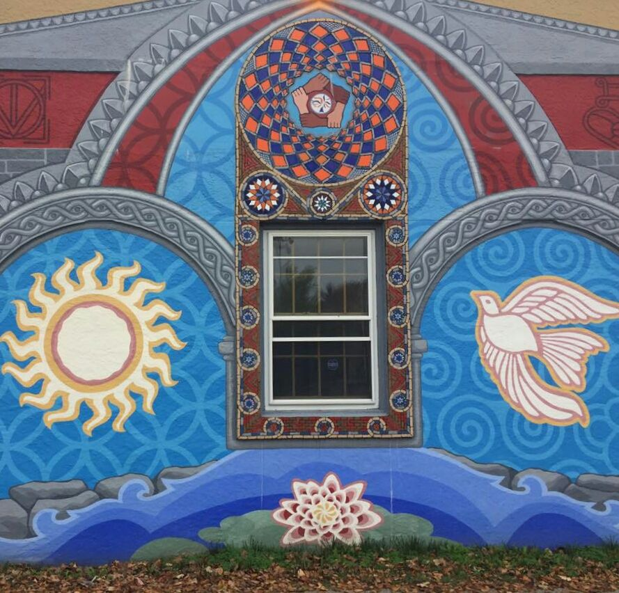 Philadelphia Mural Art, Mount Airy Office Building